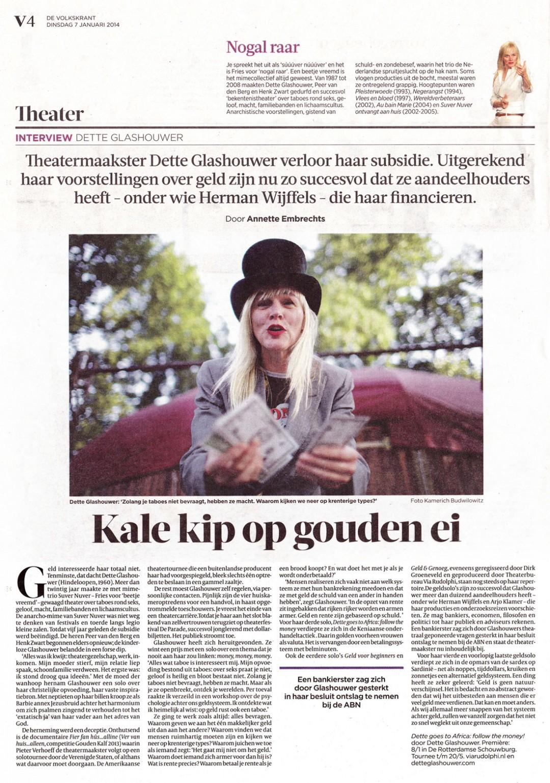 Volkskrant, 2014/01/07